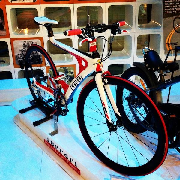 法拉利自行车高清图片
